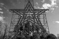 The Historic Roanoke Star, Roanoke, Virginia, USA Royalty Free Stock Photo