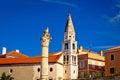 Historic roman landmarks of Zadar Royalty Free Stock Photo