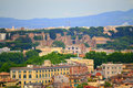 Historic Rome scenic view Royalty Free Stock Photo