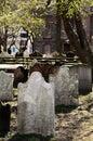 Historic st pauls chapel graveyard nyc paul s Royalty Free Stock Photos