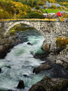 Historic Stone Bridge Royalty Free Stock Photo