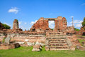 The historic temple in ayutthaya thailand wat chai watthnaram Stock Photos