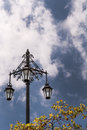 The historic Three Lanterns in Auckland. Royalty Free Stock Photo