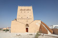 Historic tower in Doha, Qatar Royalty Free Stock Photography