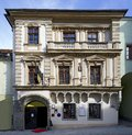 Historic town house with gothic and historicism elements