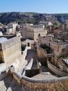 The historic town Matera Royalty Free Stock Photo