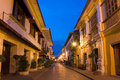 Historic Town of Vigan Royalty Free Stock Photography