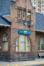 Historic VIA Rail Train Station In Downtown Brampton, Ontario Royalty Free Stock Photo