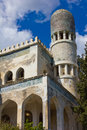 Historic villa Dream in Simeiz, Crimea Royalty Free Stock Image