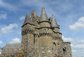 Historic Vitre Castle Stock Photography