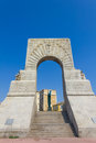 Historic war monument in marseilles france south of Stock Photo