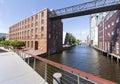 Historic Warehouse At Hamburg-...