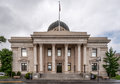 Historic Washoe County Courthouse in Reno Nevada Royalty Free Stock Photo