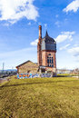Historic watertower build of bricks Royalty Free Stock Photo