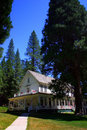 Historic Wawona Hotel, Yosemite National Park Royalty Free Stock Photo