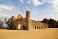The historical Basilica of Cuilapan, Oaxaca, Mexico Royalty Free Stock Photo