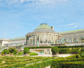Historical botanique garden in center of brussels belgium Royalty Free Stock Images