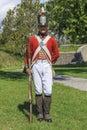 Historical british uniform Royalty Free Stock Photo