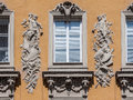 Historical Building Facade Munich Royalty Free Stock Image