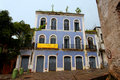 Historical Building Facade Sao Luis do Maranhao Royalty Free Stock Photo