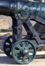 Historical cannon in Gibraltar Royalty Free Stock Images