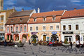 Historical center of Brasov city Stock Photo