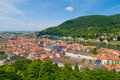 Historical center of Heidelberg Stock Images