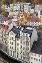 Historical center of Karlovy Vary Royalty Free Stock Images