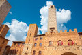 Historical center of the medieval village of San Gimignano, Tuscany Royalty Free Stock Photo