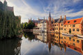 Historical centre of Bruges Royalty Free Stock Photo