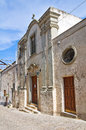Historical church ginosa puglia italy of Royalty Free Stock Photos