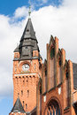 Historical city hall of the old town of berlin köpenick built in neo gothic style in Stock Photography