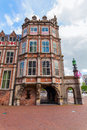 Historical devil house in Arnhem, Netherlands Royalty Free Stock Photo