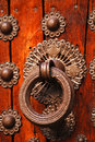 Historical door detail Royalty Free Stock Photography