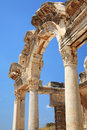 Historical Gate at Ephesus Royalty Free Stock Photos