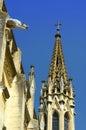 historical gothic architecture background Royalty Free Stock Photo