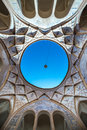 Historical house in Kashan Royalty Free Stock Photo