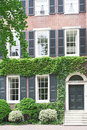 Historical house in Philadelphia, Pennsylvania Royalty Free Stock Photos