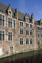 Historical houses in ghent belgium Royalty Free Stock Image