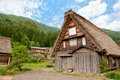 Historical japanese village shirakawa go world heritage japan Stock Images