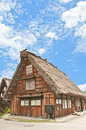 Historical japanese village shirakawa go world heritage japan Stock Image