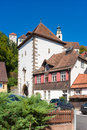 The historical lucifer tower in horb on the neckar also ihlinger gate called black forest baden wurttemberg germany europe Royalty Free Stock Images
