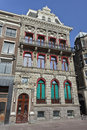 Historical Mansion at Rokin, Amsterdam center Stock Photo