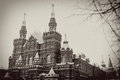 Historical museum, Red Square, Moscow, Russia Royalty Free Stock Images