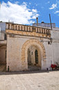 Historical palace felline puglia italy of Royalty Free Stock Image
