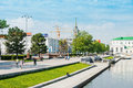 Historical square in the center of ekaterinburg russia yekaterinburg june yekaterinburg on june yekaterinburg is bidding for expo Royalty Free Stock Photos