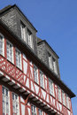 Historical timbered building in frankfurt germany Royalty Free Stock Photography