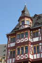 Historical timbered house in frankfurt germany Stock Photo