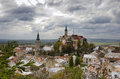 Historical town  Mikulov Stock Photography