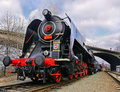 Historical train locomotive czech based on steam engine this model nickname noblewoman is used for rides operated Royalty Free Stock Image